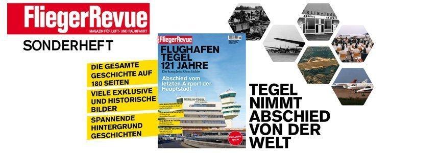 FliegerRevue Flughafen tegel 121 Jahre